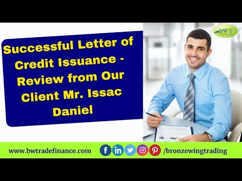 Bronze Wing Trading Reviews – Letter of Credit Providers – DLC MT700
