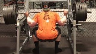 585 POUND SQUAT W/ SPECIAL GUEST TIGER