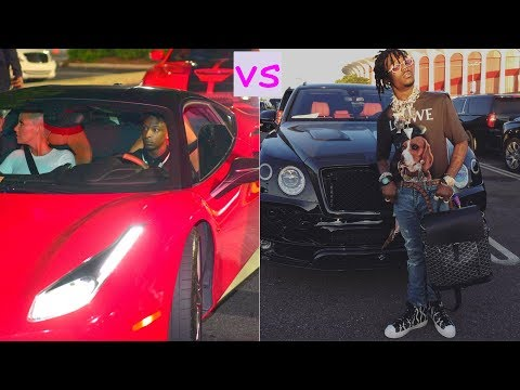 21 savage cars vs Lil uzi vert cars (2018)