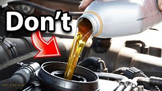 Never Use This Type of Engine Oil in Your Car