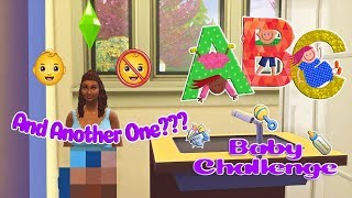 Sims 4 | ABC Baby Challenge | Pt 16 - 👶🏽And Another One???👶🏽