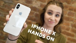 iPhone X FIRST IMPRESSIONS !!! Hands-on Experience
