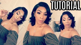 HOW TO: CUT AND STYLE YOUR HAIR + MAKEUP TUTORIAL | Beautyforever Hair