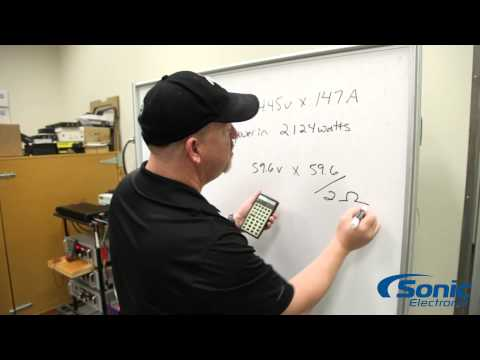 How to Calculate the Efficiency of an Amplifier