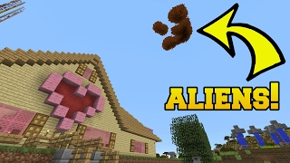 Minecraft: PROOF ALIENS EXIST!!! - Custom Command