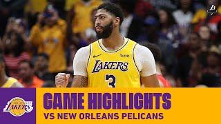 HIGHLIGHTS | Anthony Davis (41 pts) vs. Pelicans