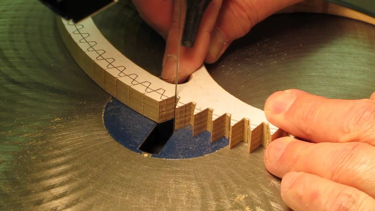 Cutting Wood Gear Amp Clock Wheel Teeth Youtube