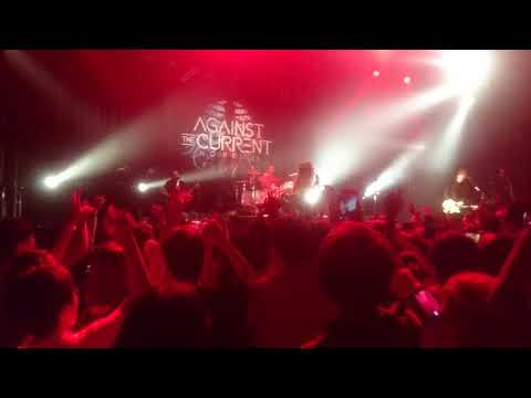 Against the Current live in tokyo 20.09.2017