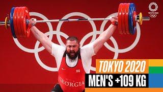 🏋️♂️ Men's +109 kg Weightlifting | Tokyo Replays