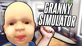 SOMETHING'S WRONG WITH THIS BABY | Granny Simulator