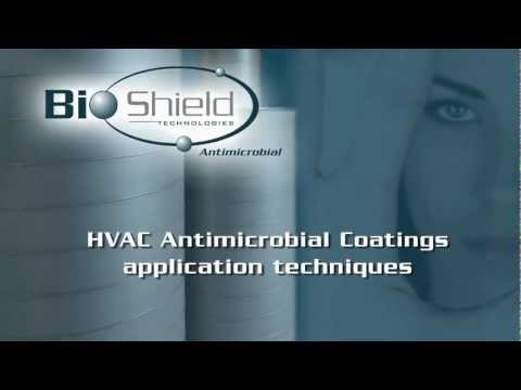 HVAC Antimicrobial Shop Applied Coatings