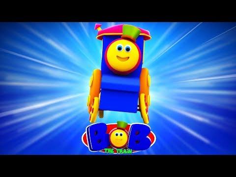 🔴 Bob The Train Cartoons Videos For Children   Fun Nursery Rhymes For Babies