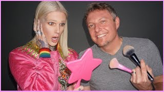 MY BOYFRIEND'S DAD DOES MY MAKEUP | Jeffree Star