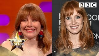 Could Jessica Chastain be Bryce Dallas Howard's twin? - BBC