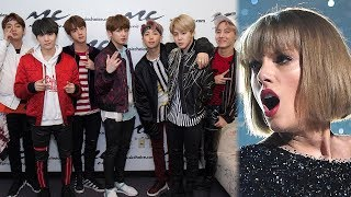 """BTS DETHRONES Taylor Swift's YouTube Record With """"Idol"""" Music Video"""