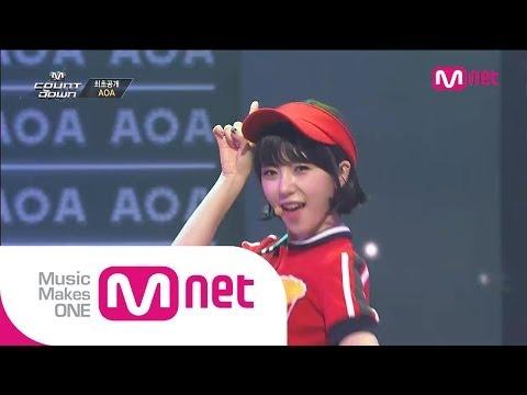 Mnet [엠카운트다운] Ep.381 : AOA - 단발머리(Short Hair) + Fantasy @M COUNTDOWN_140619