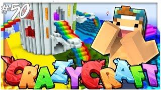 GAY RAINBOW ISLAND! | EP 50 | Crazy Craft 3.0 (Minecraft Youtuber Server)