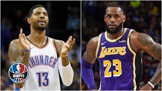 Paul George, James Harden insanity and LeBron in 'chill mode' this week | NBA on ESPN