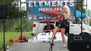 Alicia G Performing
