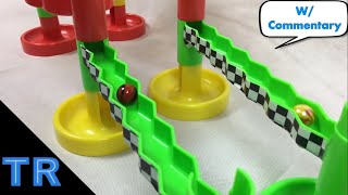 Side-by-Side 16 Marble Tournament #2 - Toy Racing