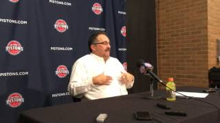 SVG reacts to Pistons' 106-101 win over Cleveland