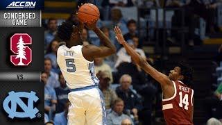 Stanford vs. North Carolina Condensed Game | 2018-19 ACC Basketball