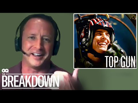 "Former Navy fighter pilot Matthew ""Whiz"" Buckley breaks down flying scenes from movies, including 'Top Gun,' 'Pearl Harbor' and 'Behind Enemy Lines' with GQ's The Breakdown"