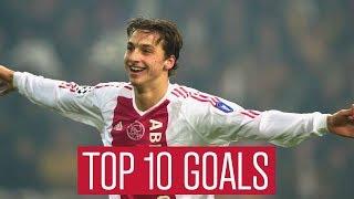 TOP 10 GOALS - Zlatan Ibrahimovic | Swedish wondergoals