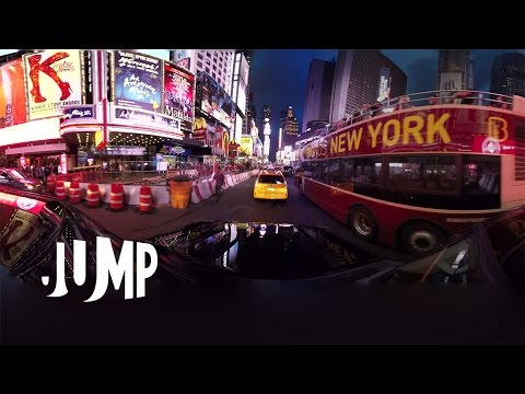 GoPro VR: New York City Jump 360 Video Shot on Odyssey