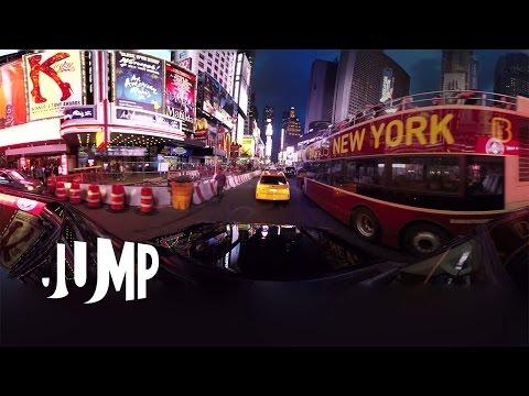 GoPro VR: New York City Jump 360 Video Shot on Odyssey