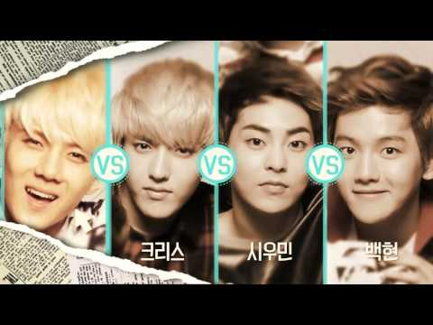 [FULL] EXO (엑소) - SK LTE CF (EXO vs EXO) Dance Battle Round