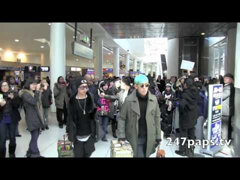(120209) Big Bang arrives in New Yorks JFK Airport [MV] [M/V]