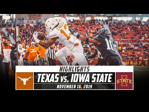 No. 19 Texas vs. Iowa State Highlights (2019) | Stadium