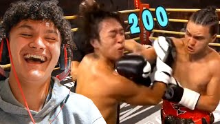 Reacting To My Boxing Fight