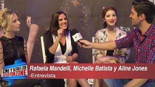 """A solas con Rafaela Mandelli, Michelle Batista y Aline Jones de """"El negocio"""" por Javier Ponzone"""