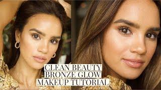 CLEAN BEAUTY BRONZE MAKEUP TUTORIAL! | DACEY CASH