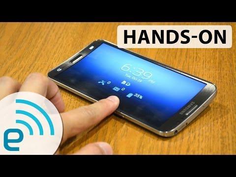 Samsung Galaxy Round – test wideo