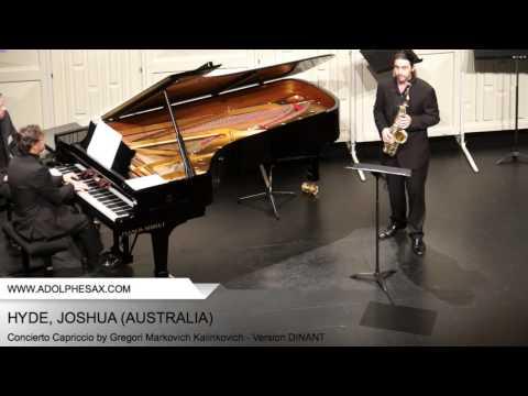 Dinant 2014 - Hyde, Joshua - Concerto Capriccio by Gregori Markovich Kalinkovich