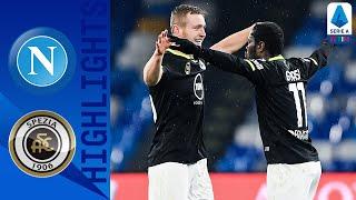 Napoli 1-2 Spezia | Late Pobega Goal Secures Shock Away Win for Spezia! | Serie A TIM