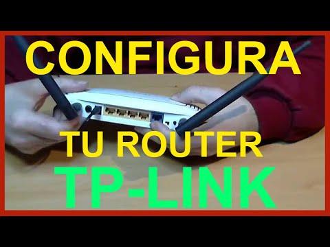 📶 Configurar el wifi del router TP-LINK WR841ND