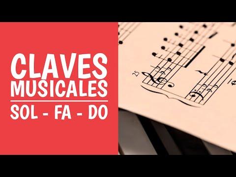 7. Claves Musicales: Clave de Sol, Fa y Do. Aprende Solfeo Jugando (Teoría Musical)