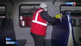 На Омском железнодорожном вокзале усилили меры борьбы с опасной инфекцией