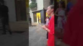 Christiano Ronaldos girlfriend Georgina Rodriguez in Palma de Mallorca / 27.07.17