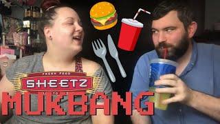 SHEETZ MUKBANG EATING SHOW & STORY TIME | HOW WE MET!