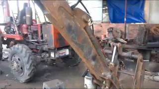 Xưởng chế tạo xe gắp mía