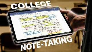 iPad Pro + College Note-taking   My Experience!   Goodnotes 5