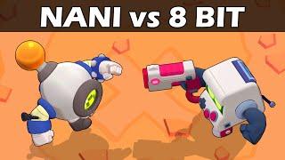 NANI vs 8 BIT | Retro Battle | 1vs1 | Brawl Stars