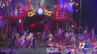 Final Ringling Bros. and Barnum & Bailey Circus in Providence