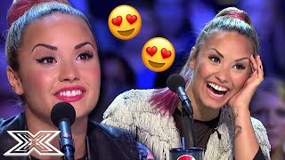 DEMI LOVATO'S TOP 3 Favourite Auditions On X Factor USA | X Factor Global