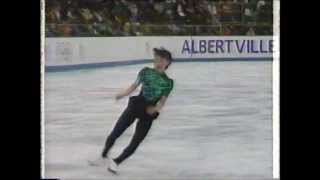 Midori Ito, 1992 Olympics, Long Program Practice-  8  double axels in a row!